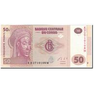 Billet, Congo Democratic Republic, 50 Francs, 2013-06-30, KM:97a, SPL+ - Congo