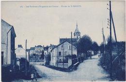 CARTE POSTALE   Entrée De St MARCEL 36 - France