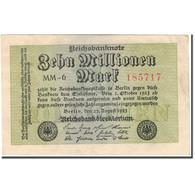 Billet, Allemagne, 10 Millionen Mark, 1923-10-01, KM:106a, TTB+ - [ 3] 1918-1933: Weimarrepubliek