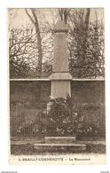 80 - BRAILLY CORNEHOTTE LE MONUMENT AUX MORTS - ÉDITION MACQUERON GLACHAUT CLICHÉ ARTHUIS N° 2 - 2 Scans - France