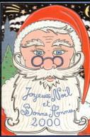 LOT064.....10 CPSM PERE NOEL - Cartes Postales