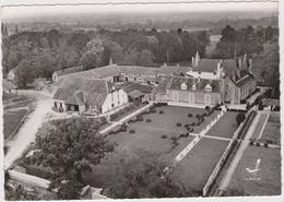 CPSM   En Avion Au Dessus De.....SAINT MICHEL EN BRENNE 36  Château De Blizon - France
