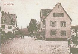 """Derendingen  / Tübingen    """" Dorf """" - Detmold"""