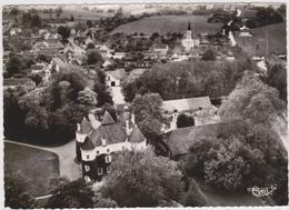 CPSM   ENTRAIGUES 36  Vue Aérienne.Le Château - Autres Communes