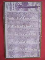 Petit Calendrier - 1903 - L'UNION Cie D'ASSURANCES SUR LA VIE - Format : 9,5 X 6 Cm - Calendriers