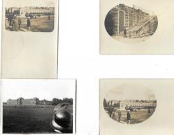 3 Cartes Animées Anciennes Et 1 Photo / Courses De Chevaux / Hippodrome / Château / Chantilly ??? - Hippisme