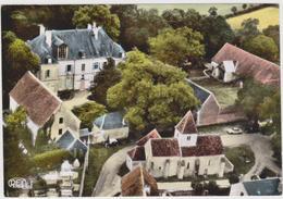 CPSM   NOHANT 36 L Château De George Sand Et Ses Dépendances Vue Aérienne. - France