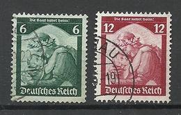 Deutsches Reich 1935 Michel 566 - 567 O - Deutschland