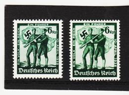 AUA1112 DEUTSCHES REICH 1938  MICHL 662/63  ** Postfrisch Siehe ABBILDUNG - Deutschland