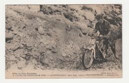 6 Jours De Grenoble 1920.Barthelemy,sur Scott,pneus Hutchinson.Médaille D'Or.Moto. - Sport Moto