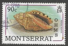 Montserrat. 1989 Official. 90c Used. SG O84 - Montserrat