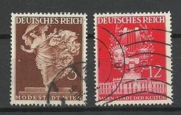 Deutsches Reich 1941 Michel 768 & 770 Wiener Messe O - Deutschland