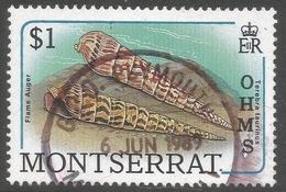 Montserrat. 1989 Official. $1 Used. SG O85 - Montserrat