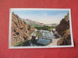 Estes Park - Colorado  Junction Of Loveland & Fort Collins Road      Ref 3162 - Other