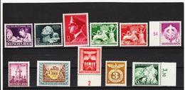 AUA1169 DEUTSCHES REICH 1942/43  LOT  ** Postfrisch Siehe ABBILDUNG - Deutschland