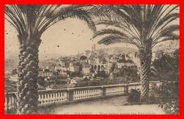 06 GRASSE ALPES MARITIMES VUE PRISE ENTRE LES PALMIERS DU GRAND HOTEL COTE D'AZUR CARTE ANCIENNE EDITIONS PHOTO GILLETTA - Grasse