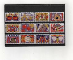 FRANCE    Autoadhésif   2017  Y.T. N° 1430  à  1441  Oblitéré - Adhésifs (autocollants)