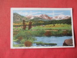 Estes Park - Colorado  -- Moraine Park       Ref 3162 - Other