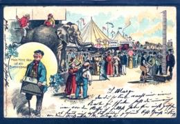 16228 Circus Lorch - Mein Herz Ist Ein Beinenhaus - Unijambiste . Elefant - Chapiteau - Très Belle Litho - Cirque