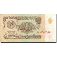 Billet, Russie, 1 Ruble, 1961, KM:222a, TTB+ - Russie