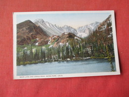 Estes Park - Colorado  --Bear Lake & Longs Peak      Ref 3162 - Other
