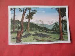 Estes Park - Colorado  --Mt. Ypsilon From High Drive      Ref 3162 - Other