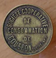 Coueron (44) 10 Centimes Société Coopérative De Consommation - Monétaires / De Nécessité