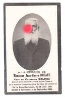 Jean Pierre DUFAYS DELHEZ Lincé Sprimont 1844 - Sprimont 1934 - Décès