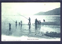 17158 Bords Du Lac Léman - Groupe De Pêcheurs Avec Enfants - VD Vaud
