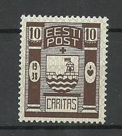 Estland Estonia 1938 CARITAS Michel 131 * - Estonie