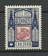 Estland Estonia 1938 CARITAS Michel 133 * - Estonie
