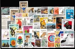 50 Versch. Afrika Marken Postfrisch  (siehe Foto) - Timbres
