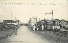 HARDELOT - L'arrivée Du Tramway De Boulogne Sur Mer. - Sonstige Gemeinden