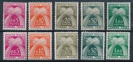 CK-310: FRANCE: Lot Avec Taxes ** N°90/94 (2 Séries) - Taxes