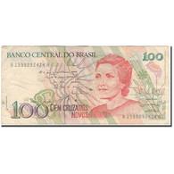 Billet, Brésil, 100 Cruzados Novos, KM:220a, TB+ - Brésil