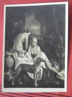 """Carl Josef Bauer-Riedeck - Akt-Gemälde """"Bad Im Park""""  (München, Haus Der Deutschen Kunst) HDK 655 / Windhund? - Peintures & Tableaux"""