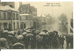 75 - PARIS - INONDATIONS JANVIER 1910 / QUAI DE LA RAPEE - Paris Flood, 1910