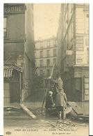75 - PARIS - INONDATIONS JANVIER 1910 / RUE MAITRE ALBERT - Paris Flood, 1910