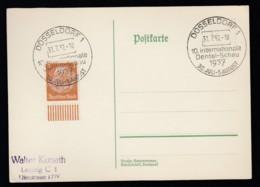 Deutsches Reich Postkarte Sonderstempel 1937 Düsseldorf Ungelaufen Lot 829 - Deutschland