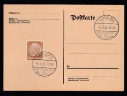 Deutsches Reich Postkarte Sonderstempel 1938 Hamburg Ungelaufen Lot 833 - Deutschland