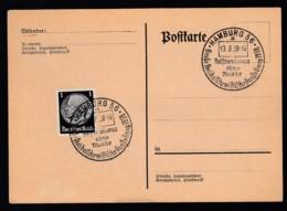 Deutsches Reich Postkarte Sonderstempel 1938 Hamburg Ungelaufen Lot 839 - Deutschland