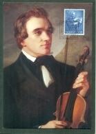 CM-Carte Maximum Card #1985-Norvége,Norge # Europa  CEPT # Musique,Musik,music ( Ole Bull ,composer,violonist) - Europa-CEPT