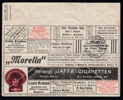 Deutsches Reich Illustrierter Firmen-Brief  Drogen Colonialwaren 1924 Frankfurt A M Nach Schöneberg B Berlin Lot 849 - Deutschland