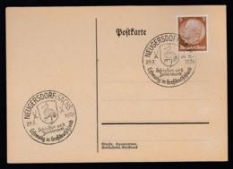 Deutsches Reich Postkarte Sonderstempel 1939 Neugersdorf Ungelaufen Lot 901 - Deutschland
