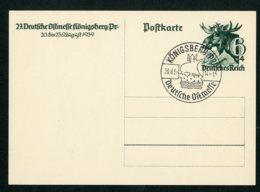 Deutsches Reich Postkarte Ganzsache P280 Sonderstempel Königsberg Ostpreussen Ungelaufen Lot 940 - Ganzsachen