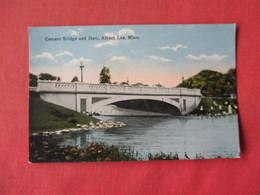 Cement Bridge & Dam Albert Lea - Minnesota . Ref 3163 - Other