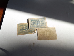 3 Billets D'Allemagne De 10 Pfennig - Other
