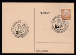 Deutsches Reich Postkarte Sonderstempel 1939 Hamburg Ungelaufen Lot 992 - Deutschland