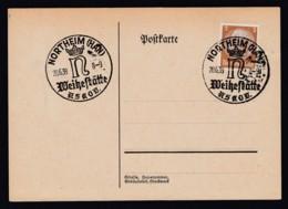 Deutsches Reich Postkarte Sonderstempel 1939 Northeim Ungelaufen Lot 1000 - Deutschland