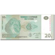 Billet, Congo Democratic Republic, 20 Francs, 2003-06-30, KM:94a, NEUF - Congo